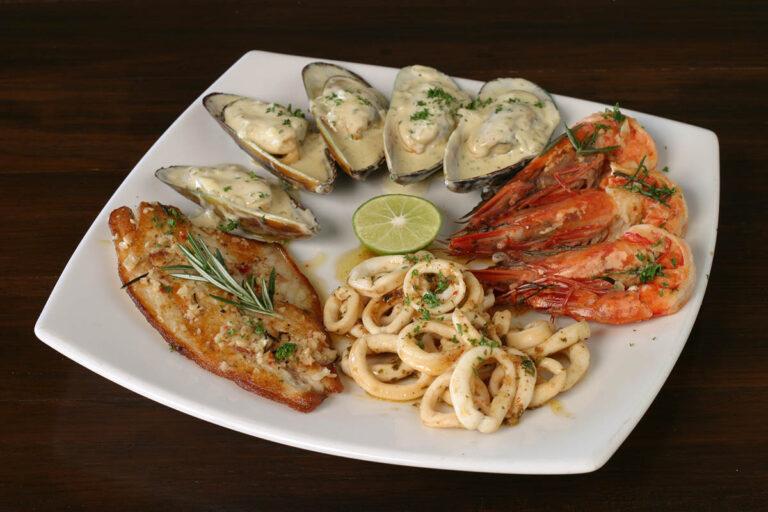 Koh Samui best Seafood combo