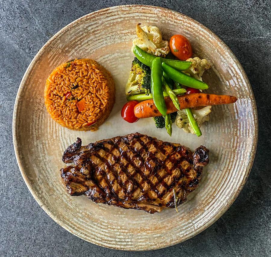Grilled Australian Beef Striploin 200g