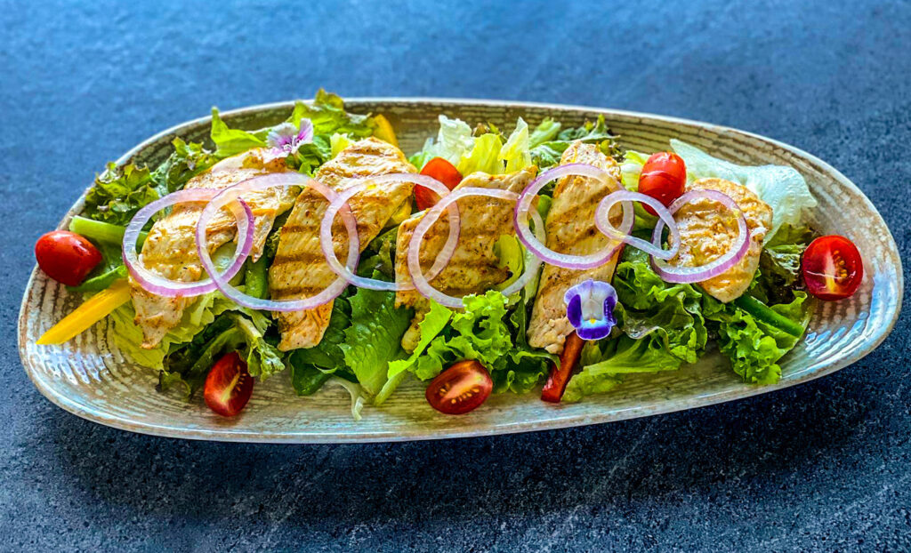 Warm Chicken Salad
