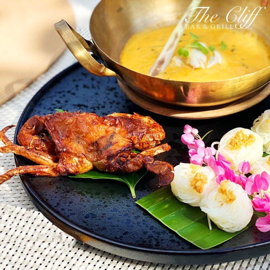 Duo of Crispy Soft Shell Crab & Yellow Crab Curry