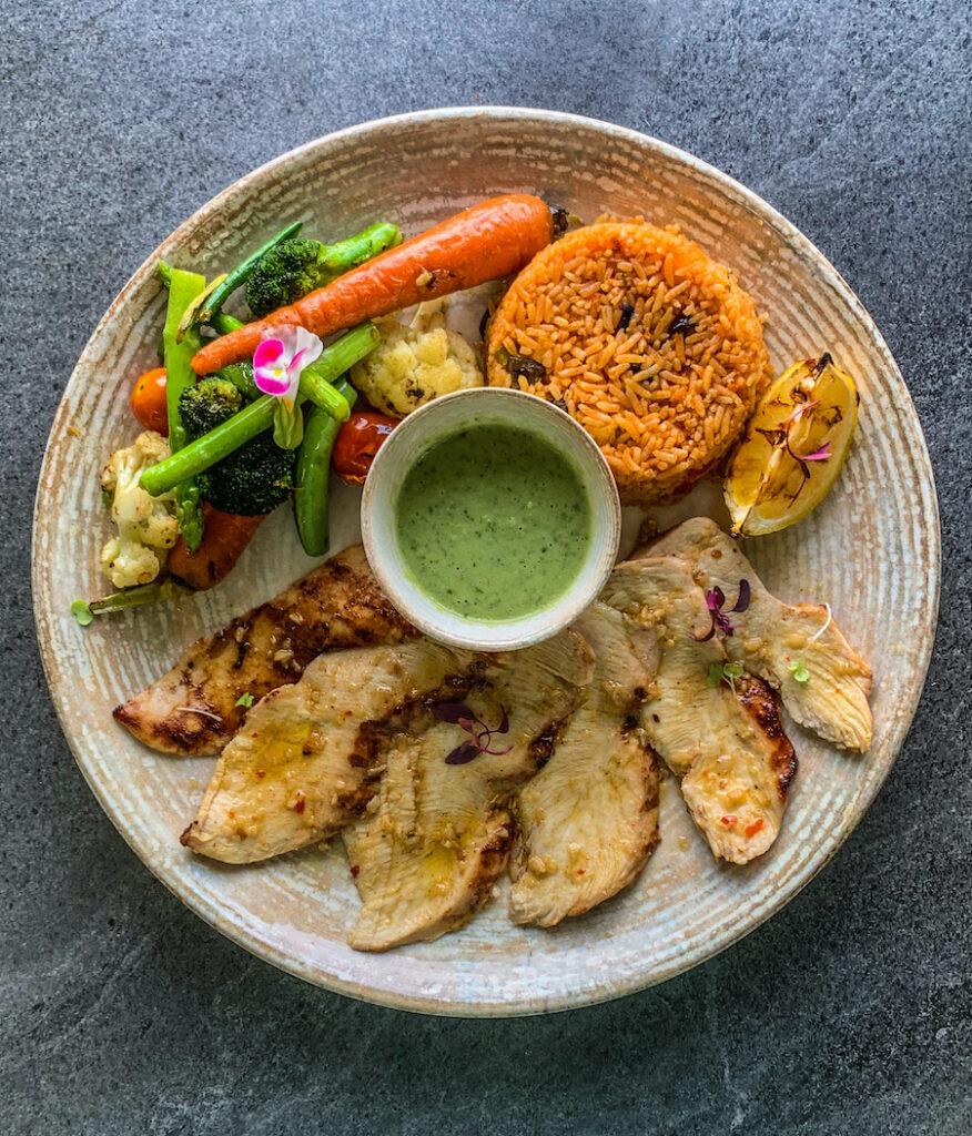 Thai Green Curry Chicken Breast