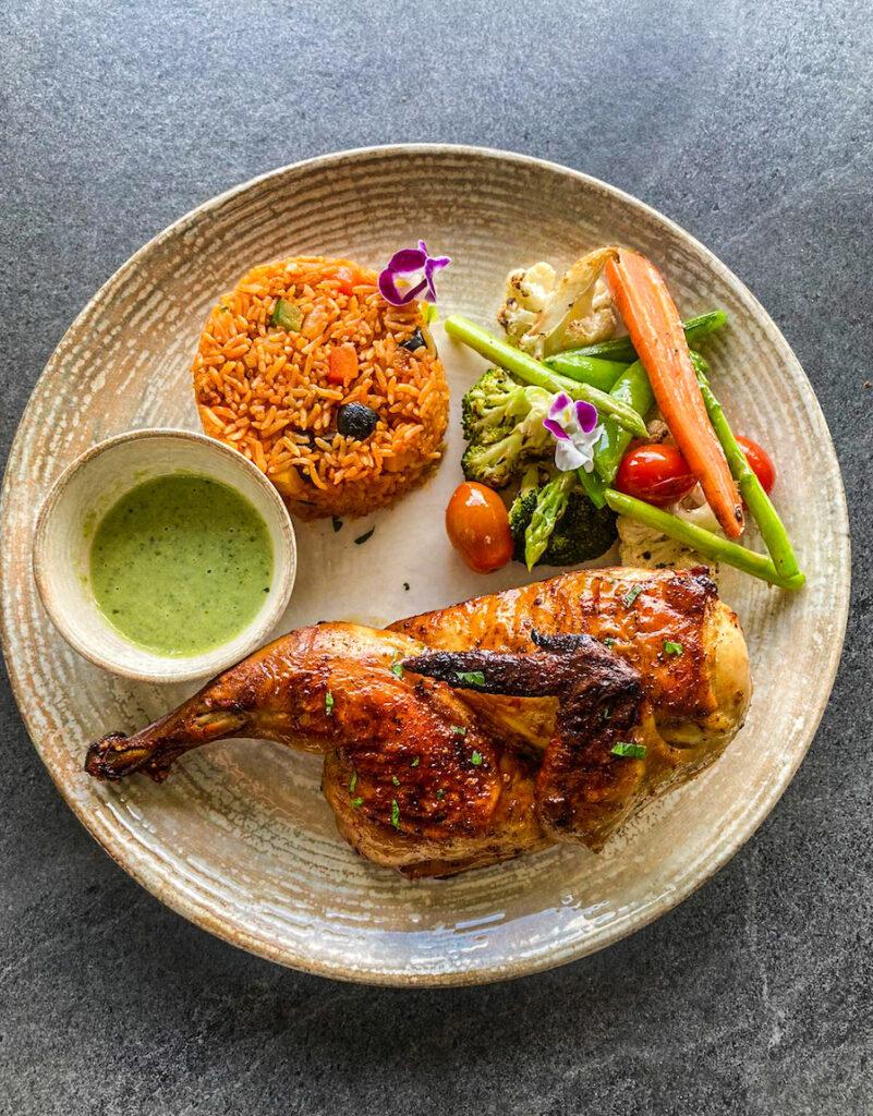 Spicy Thai Green Chili Chicken Half